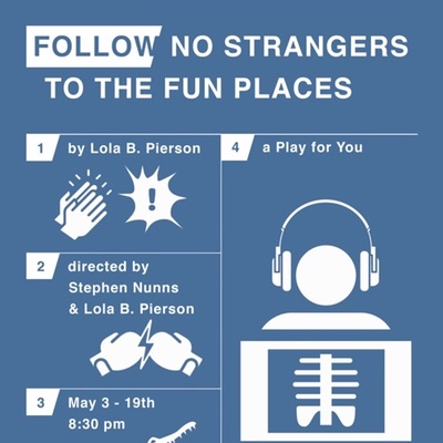 Follow No Strangers to the Fun Places